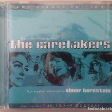 CDs de Música: THE CARETAKERS & THE YOUNG DOCTORS - ELMER BERNSTEIN - PRECINTADO - CD - BSO / OST / BANDA SONORA. Lote 100244615