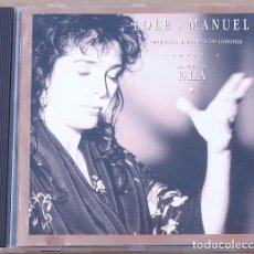 CDs de Música: LOLE Y MANUEL - CANTAN A M. DE FALLA (CD) 1992 - 17 TEMAS - ORQUESTA SINFONICA DE LONDRES. Lote 100287107