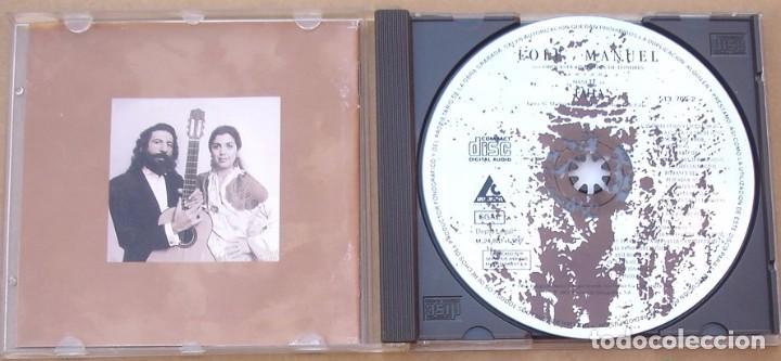 CDs de Música: LOLE Y MANUEL - CANTAN A M. DE FALLA (CD) 1992 - 17 TEMAS - ORQUESTA SINFONICA DE LONDRES - Foto 2 - 100287107