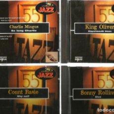 CDs de Música: 26 CD´S JAZZ KENNY BURRELL, CARMEN MCRAE, DAVE BRUBECK SONNY ROLLINS, COUNT BASIE, DON BYAS, ETC. Lote 100302075