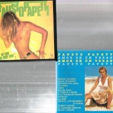 CDs de Música: 8 CD´S FAUSTO PAPETTI ( MY LOVE, HOLLYWOOD, MIDNIGHT MELODIES, AMOR DE VERANO, CANCIONES INOLVIDABLE. Lote 100302891
