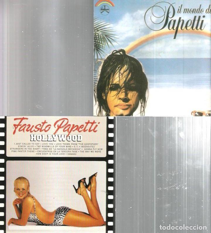 CDs de Música: 8 CD´S FAUSTO PAPETTI ( MY LOVE, HOLLYWOOD, MIDNIGHT MELODIES, AMOR DE VERANO, CANCIONES INOLVIDABLE - Foto 2 - 100302891