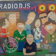 CDs de Música: RADIO DJS VOLUMEN 1 CONCIENE 2CDS. + DVD. Lote 100302950