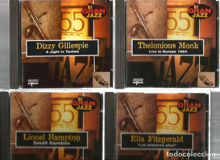 31 CD´S EL GRAN JAZZ ( JOHN COLTRANE, MILES DAVIS, BILLIE HOLIDAY, CHET BAKER, STAN GETZ, BUD POWELL (Música - CD's Jazz, Blues, Soul y Gospel)