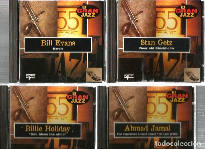 CDs de Música: 31 CD´S EL GRAN JAZZ ( JOHN COLTRANE, MILES DAVIS, BILLIE HOLIDAY, CHET BAKER, STAN GETZ, BUD POWELL - Foto 2 - 100304359