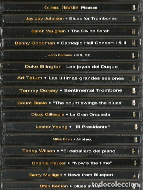 CDs de Música: 31 CD´S EL GRAN JAZZ ( JOHN COLTRANE, MILES DAVIS, BILLIE HOLIDAY, CHET BAKER, STAN GETZ, BUD POWELL - Foto 4 - 100304359