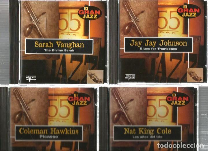 CDs de Música: 31 CD´S EL GRAN JAZZ ( JOHN COLTRANE, MILES DAVIS, BILLIE HOLIDAY, CHET BAKER, STAN GETZ, BUD POWELL - Foto 5 - 100304359
