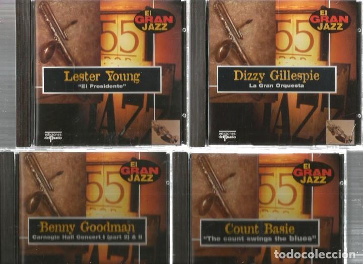 CDs de Música: 31 CD´S EL GRAN JAZZ ( JOHN COLTRANE, MILES DAVIS, BILLIE HOLIDAY, CHET BAKER, STAN GETZ, BUD POWELL - Foto 7 - 100304359