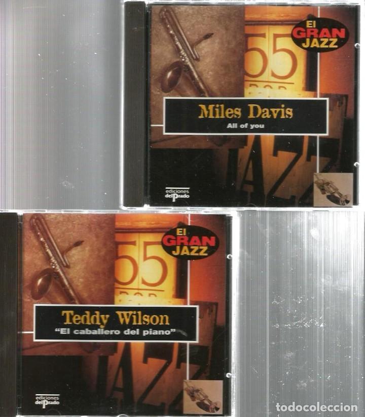 CDs de Música: 31 CD´S EL GRAN JAZZ ( JOHN COLTRANE, MILES DAVIS, BILLIE HOLIDAY, CHET BAKER, STAN GETZ, BUD POWELL - Foto 8 - 100304359