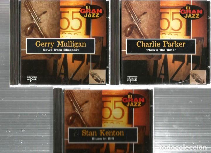 CDs de Música: 31 CD´S EL GRAN JAZZ ( JOHN COLTRANE, MILES DAVIS, BILLIE HOLIDAY, CHET BAKER, STAN GETZ, BUD POWELL - Foto 9 - 100304359