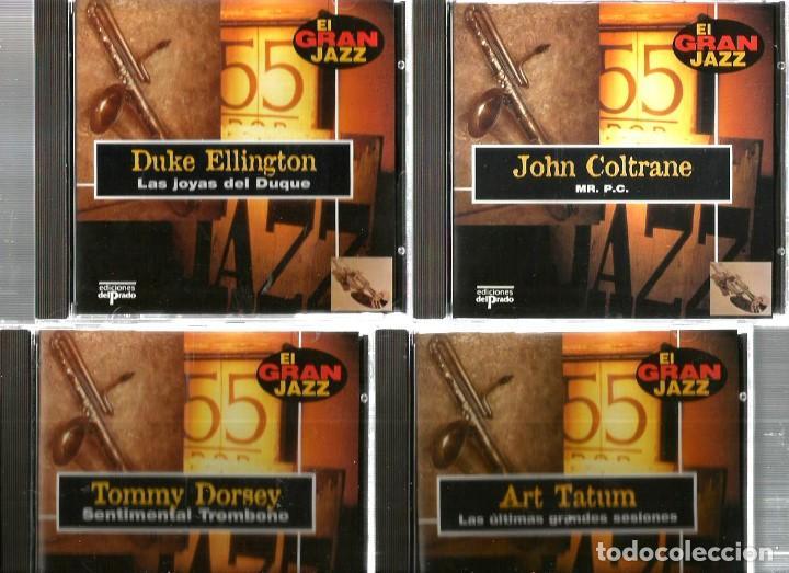 CDs de Música: 31 CD´S EL GRAN JAZZ ( JOHN COLTRANE, MILES DAVIS, BILLIE HOLIDAY, CHET BAKER, STAN GETZ, BUD POWELL - Foto 10 - 100304359