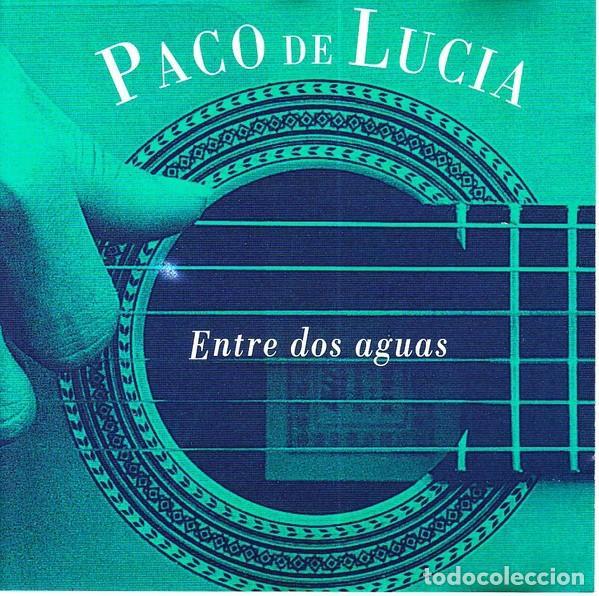 PACO DE LUCIA ENTRE DOS AGUAS CD NUEVO (Música - CD's Flamenco, Canción española y Cuplé)