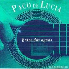 CDs de Música: PACO DE LUCIA ENTRE DOS AGUAS CD NUEVO. Lote 134783263