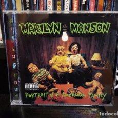 CDs de Música: MARILYN MANSON - PORTRAIT OF AN AMERICAN FAMILY. Lote 100379187