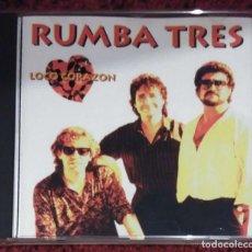 CDs de Música: RUMBA TRES (LOCO CORAZÓN) CD 1995 - 12 TEMAS * DIFICIL DE CONSEGUIR EN CD. Lote 100394027