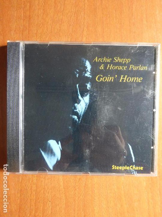 ARCHIE SHEPP & HORACE PARLAN - GOIN' HOME - CD STEEPLECHASE (Música - CD's Jazz, Blues, Soul y Gospel)