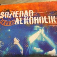 CDs de Música: SOZIEDAD ALKOHOLIKA -DIRECTO-CD. Lote 100422911