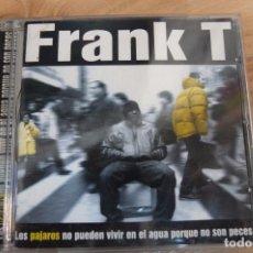CDs de Música: FRANK T -CD. Lote 100430783