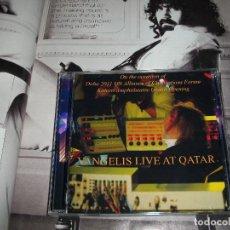 CDs de Música: VANGELIS LIVE AT QATAR 2011 CD DOBLE. Lote 121676091