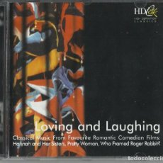 CDs de Música: LOVING AND LAUGHING. Lote 100466975