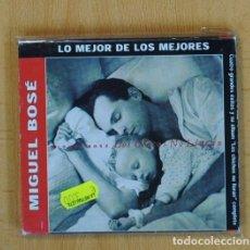 CDs de Música: MIGUEL BOSE - LOS CHICOS NO LLORAN - CD. Lote 100526172