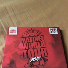 CDs de Música: MATINÉE WORLD TOUR 2012. Lote 100546747