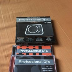 CDs de Música: PROFESSIONAL DJ'S NEW EDITION. Lote 100550807