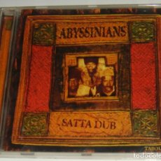 CDs de Música: CD - ABYSSINIANS - SATTA DUB - MADE IN FRANCE - ABYSSINIANS. Lote 100564711