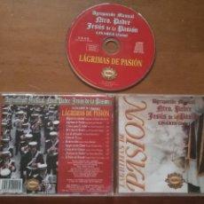 CDs de Música: RARO CD SEMANA SANTA CRISTO JESUS DE PASION LAGRIMAS DE PASION AGRUPACION MUSICAL LINARES JAEN . Lote 100596995