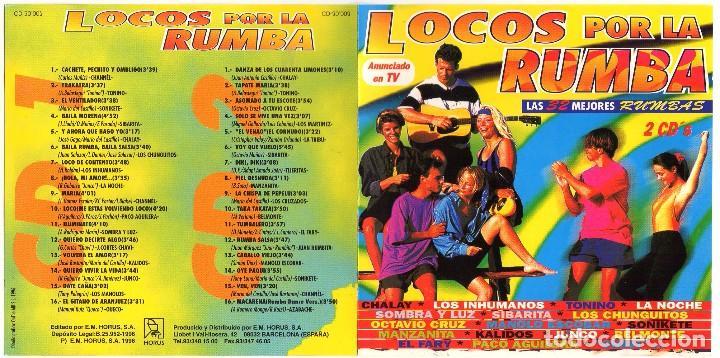LOCOS POR LA RUMBA (1996) 2 CDS (Música - CD's Disco y Dance)