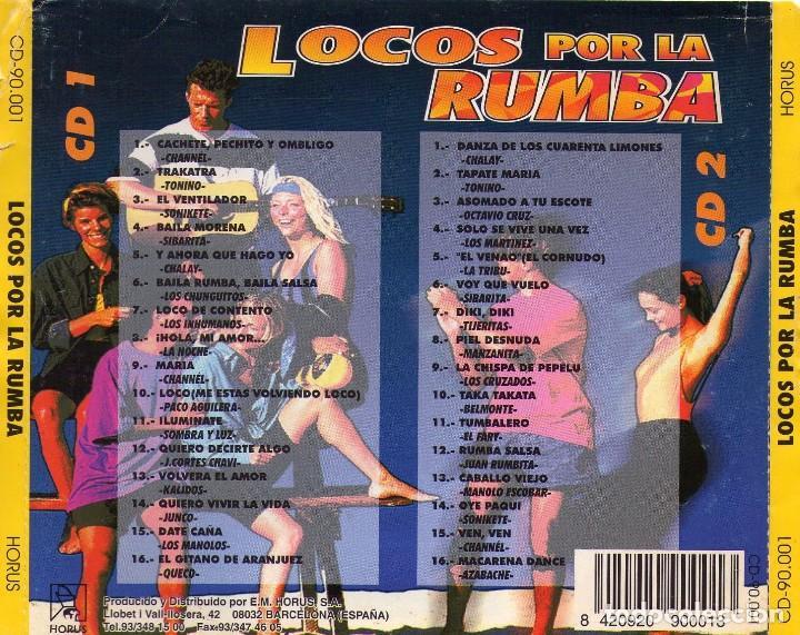 CDs de Música: locos por la rumba (1996) 2 cds - Foto 2 - 100607075