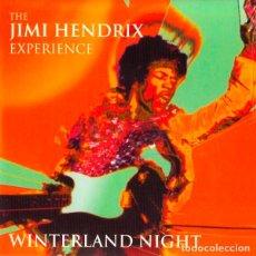 CDs de Música: JIMI HENDRIX 2XCD WINTERLAND NIGHT CD DOBLE DIGIPACK MUY RARO COLECCIONISTA LIMITADO Y NUMERADO. Lote 159346368