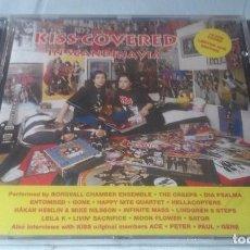 CDs de Música: KISS COVERED IN SCANDINAVIA CD (VERSIONES DE KISS POR GRUPOS ESCANDINAVOS). Lote 100637539