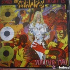 CDs de Música: VARIOUS – SONGS THE CRAMPS TAUGHT US - VOLUME TWO OSCURO CD PROHIBIDO EN DISCOGS. Lote 100644879