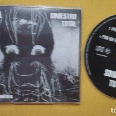 CDs de Música: PROMO CD SINGLE - SINIESTRO TOTAL - CHUSMA + 3 TEMAS INEDITOS. Lote 106053282