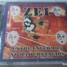 CDs de Música: ZEI -ENTRE ENFERMOS NO HAY CONTAGIOS- CD A ESTRENAR . Lote 100646035
