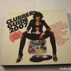 CDs de Música: CLUBBERS GUIDE 2007. Lote 100702819