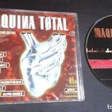 CDs de Musique: MAQUINA TOTAL - LA MAQUINA QUE LLEVAS DENTRO CD SINGLE 1998 BY MIKE PLATINAS:VENGABOYS,SUITE,DAVIS... Lote 100708987