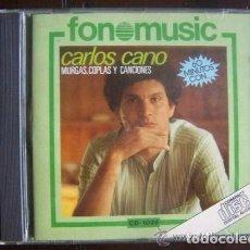 CDs de Música: CARLOS CANO CD MURGAS, COPLAS Y CANCIONES 1987 FONOMUSIC . Lote 100716615
