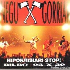 CDs de Música - Negu Gorriak - Hipokrisiari Stop! (Bilbo 93-X-30) - CD Digipack - 100737463