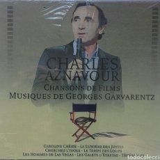 CDs de Música: CHARLES AZNAVOUR CHANSONS DE FILMS MUSIQUES DE GEORGES GARVARENTZ. Lote 100744808