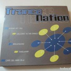 CDs de Música: TRANCE NATION CD MAX MUSIC (INCLUYE FUNDA). Lote 100746463