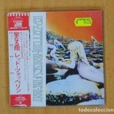 CDs de Música: LED ZEPPELIN - HOUSE OF THE HOLY JAPAN EDITION DIGIPACK - CD. Lote 100746843