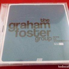 CDs de Música: CD - GRAHAM FOSTER GROUP. LIVE IN OVERDRIVE. NUEVO. PRECINTADO. Lote 206235586