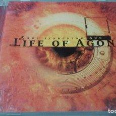 CDs de Música: LIFE OF AGONY -SOUL SEARCHING SUN- CD METAL ALTERNATIVO. Lote 100758127