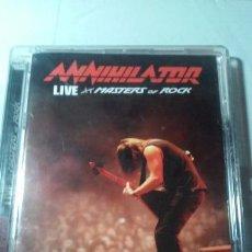 CDs de Música: ANNIHILATOR -LIVE AT MASTERS OF ROCK- CD+ DVD HEAVY METAL. Lote 100760991