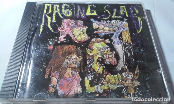 RAGING SLAB -SLABBAGE/TRUE DEATH- CD (Música - CD's Rock)
