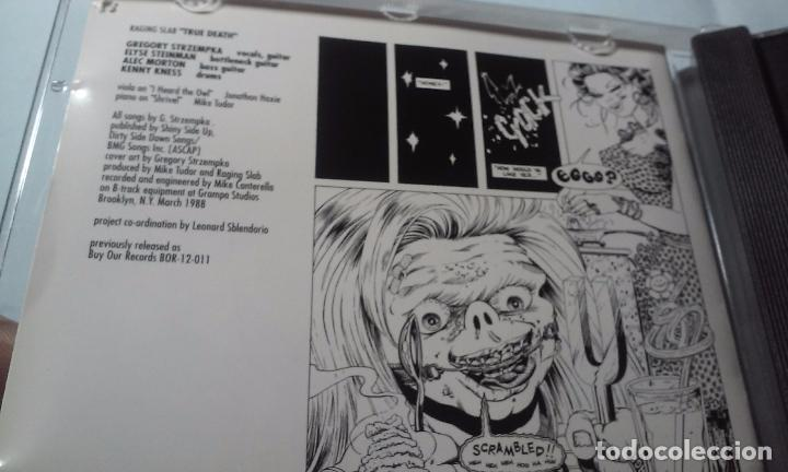 CDs de Música: RAGING SLAB -SLABBAGE/TRUE DEATH- CD - Foto 3 - 100767391