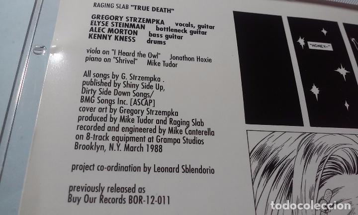 CDs de Música: RAGING SLAB -SLABBAGE/TRUE DEATH- CD - Foto 4 - 100767391