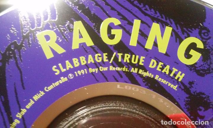 CDs de Música: RAGING SLAB -SLABBAGE/TRUE DEATH- CD - Foto 5 - 100767391